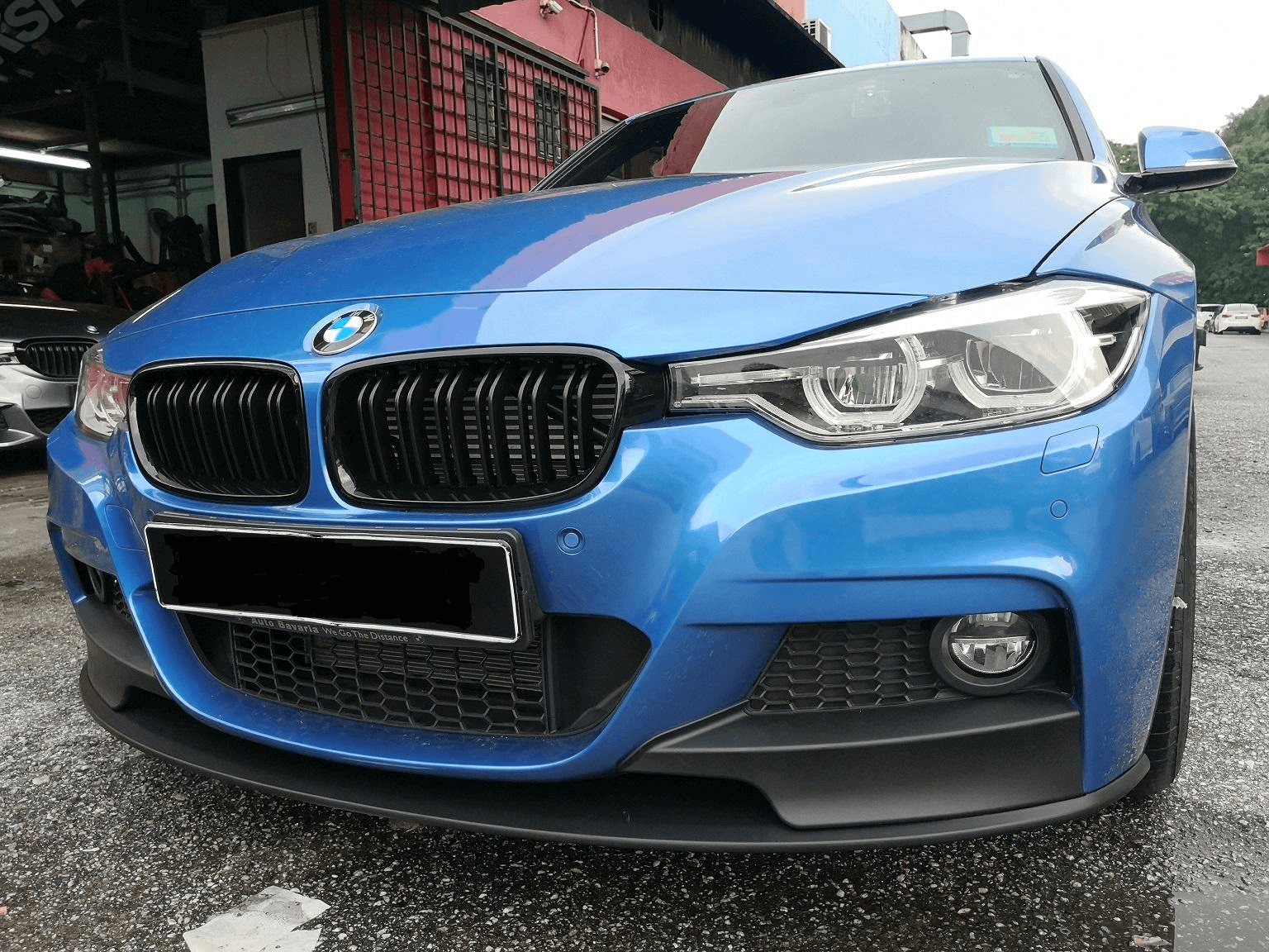 BMW F30 3 Serisi M Performance Ön Lip